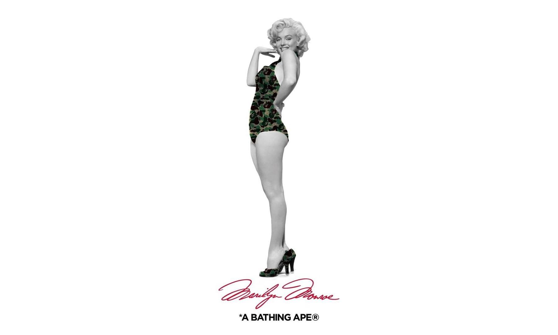 A BATHING APE® x Marilyn Monroe 全新联乘企划公开