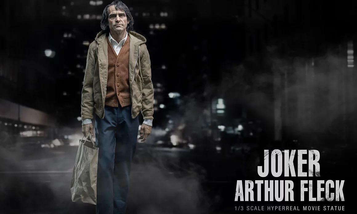 极致逼真收藏,JND Studios 1/3 比例亚瑟·弗莱克雕像预售