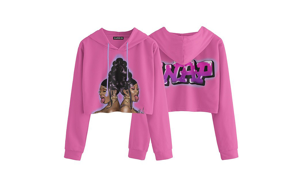 Cardi B 与 Megan Thee Stallion 合作单曲《WAP》推出周边商品