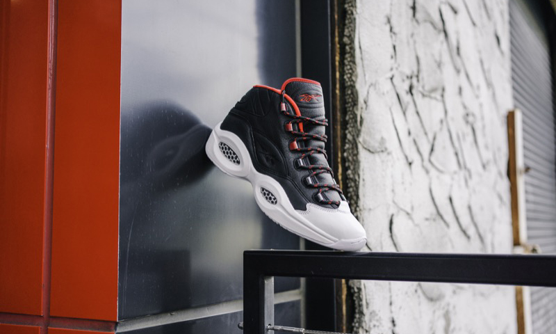 Reebok 锐步携手 adidas,艾弗森 x 哈登「OG Meets OG」Question Mid 篮球鞋即将开售