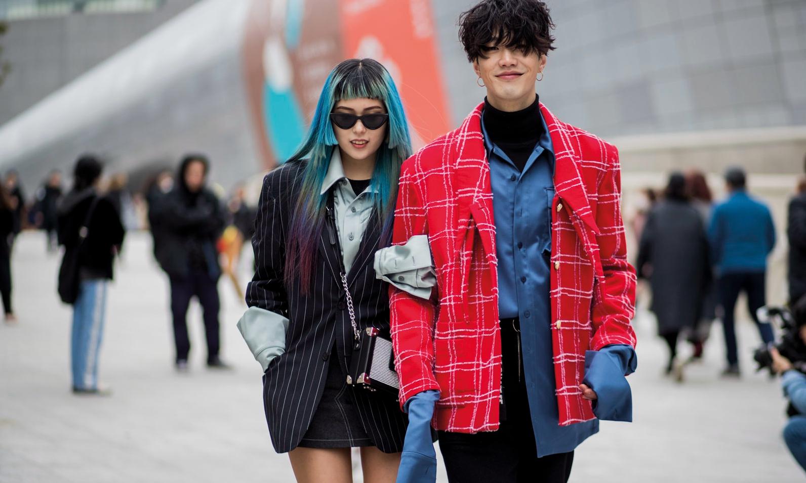 现在的韩国年轻人都在穿什么?