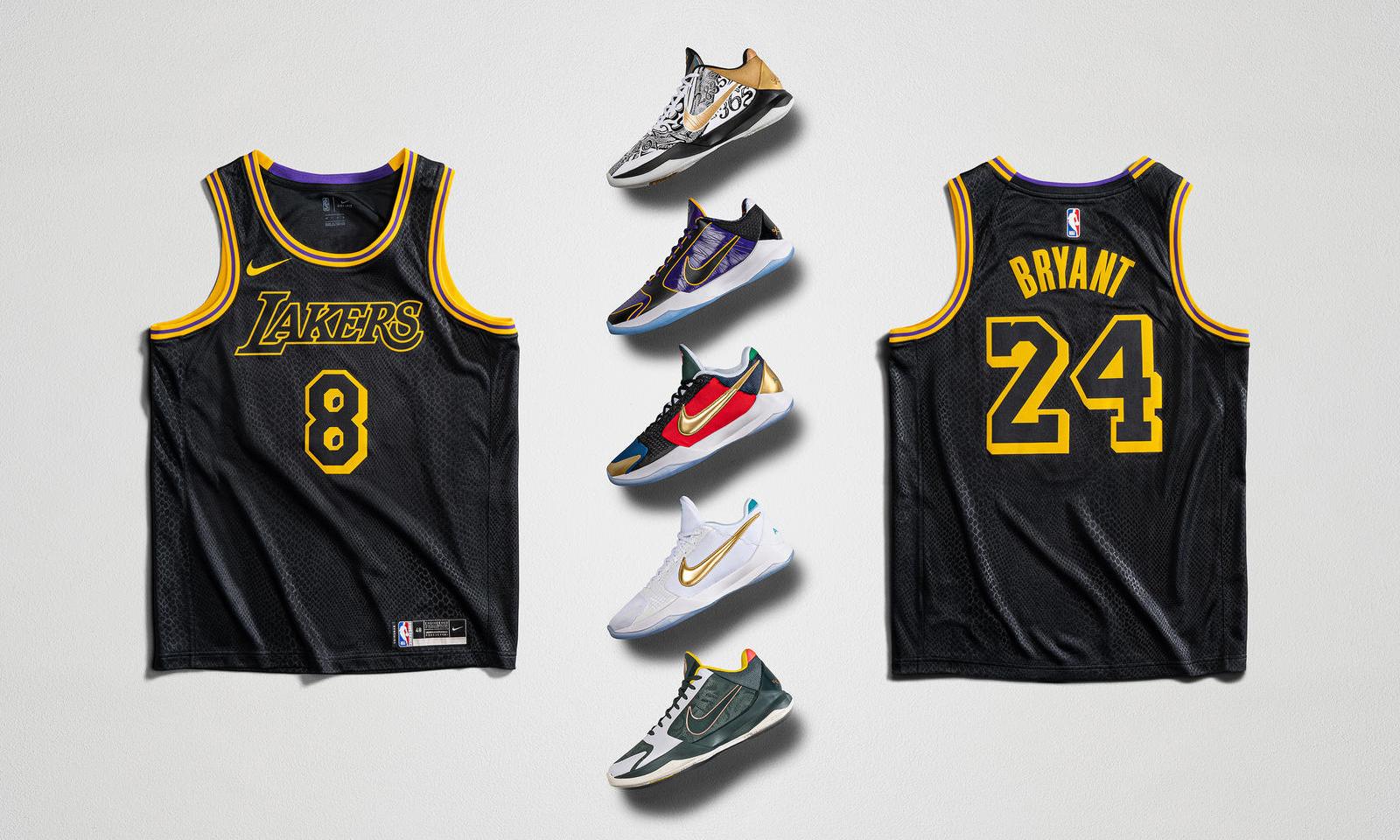 Nike「Mamba Week」重磅鞋款发售日程公开