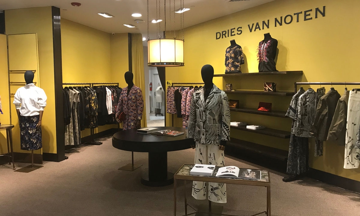 Dries Van Noten 官方正式宣布中国首家门店