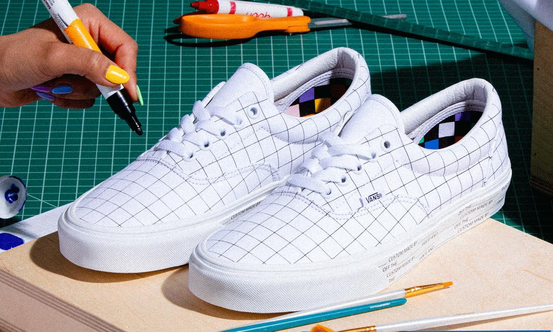 Vans U-Color 系列让你可以给鞋子做「填色游戏」