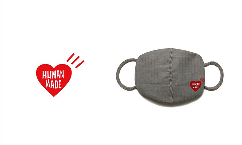 可重复使用,Human Made 推出新款口罩