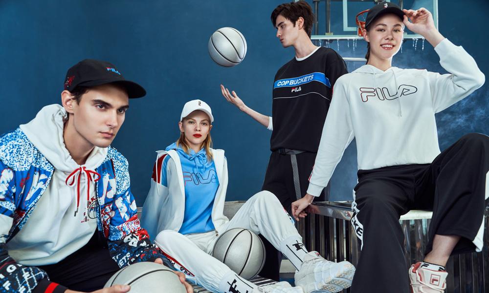 从品牌篮球历史中汲取灵感,FILA FUSION 发布全新篮球系列