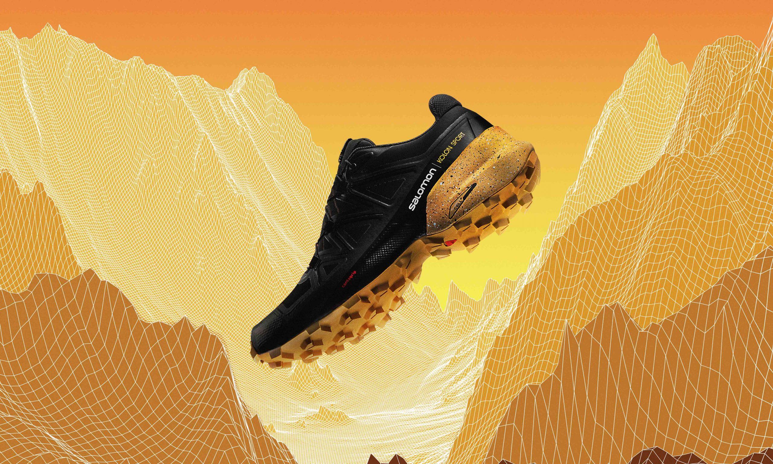 自然之履,KOLON SPORT x SALOMON 联名越野跑鞋 SPEEDCROSS 5 GTX 登场