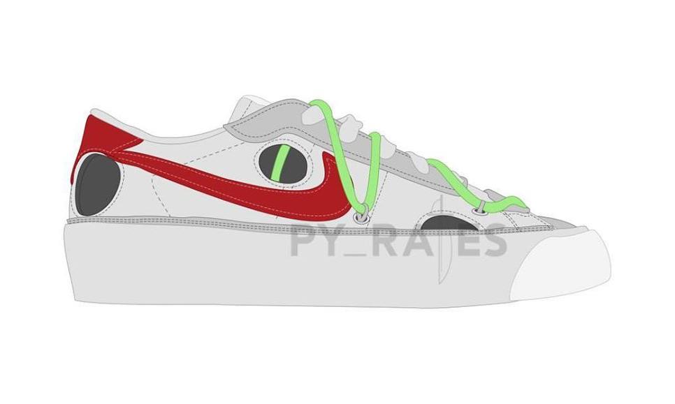 锁定 2021,Off-White™ x Nike Blazer Low 第二配色曝光