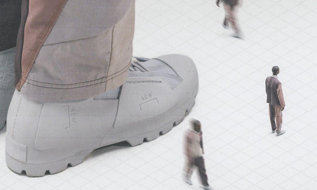 A-COLD-WALL* x CONVERSE 联乘鞋款开启官网预订