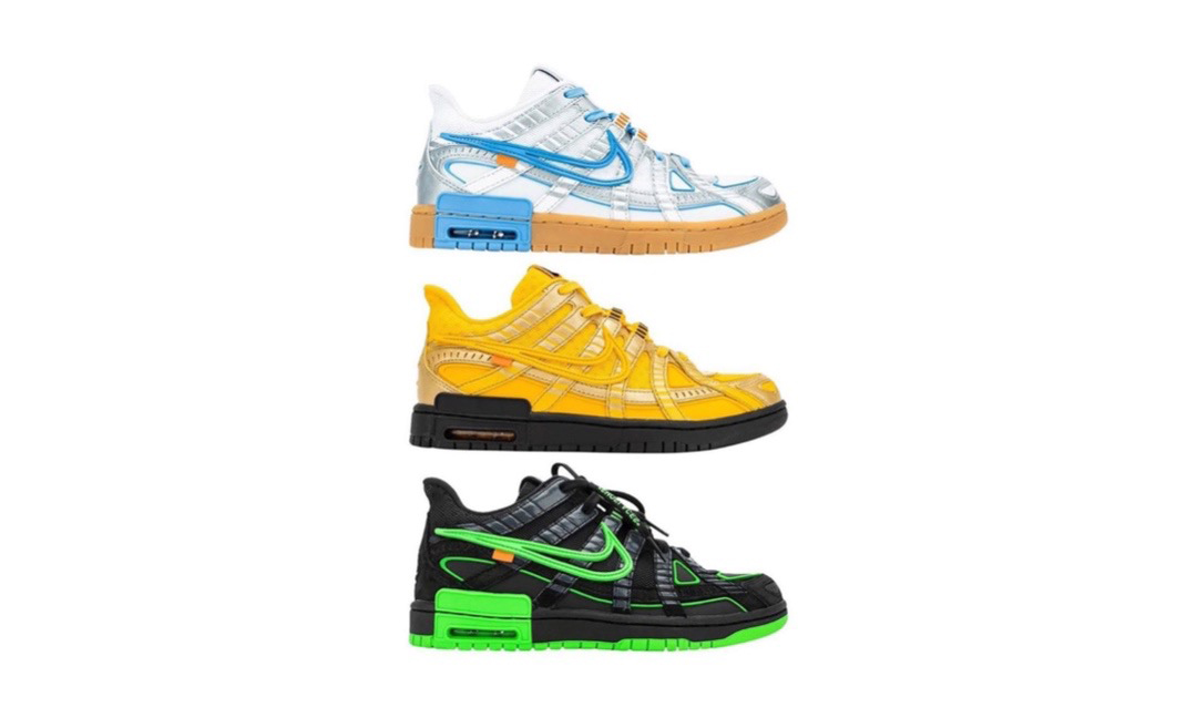 Off-White™ x Nike Air Rubber Dunk 发售日期确定