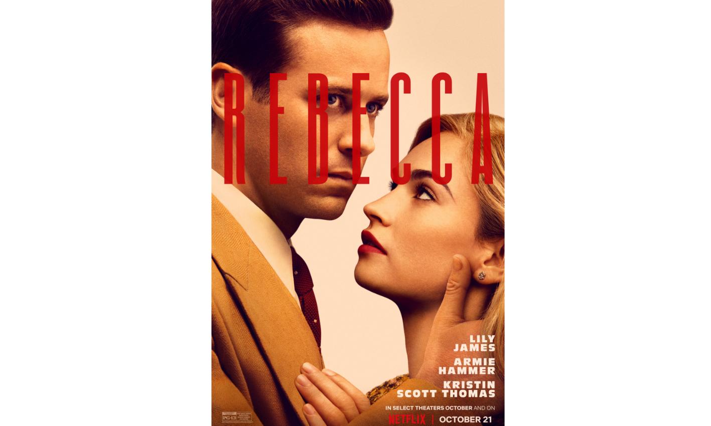 Netflix 新版《蝴蝶梦》将于 10 月 21 日上线