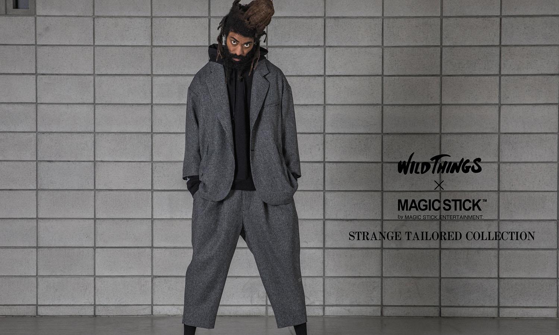 MAGIC STICK x WILD THINGS 2020 秋冬胶囊系列即将登场
