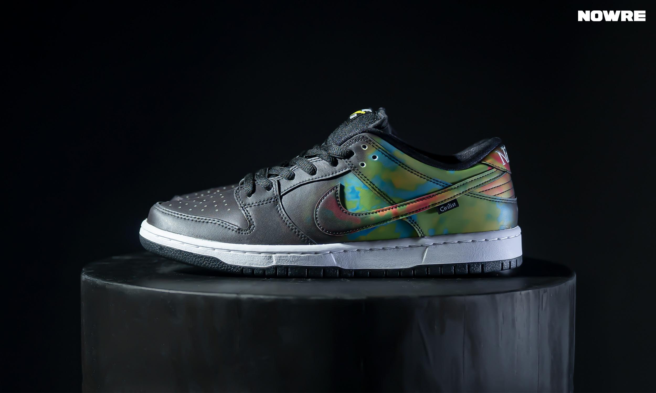如何利用变色的 Nike Dunk 在朋友圈里收获「赞」?