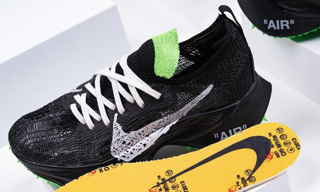 Off-White™ x Nike Air Zoom Tempo NEXT% 实物近赏