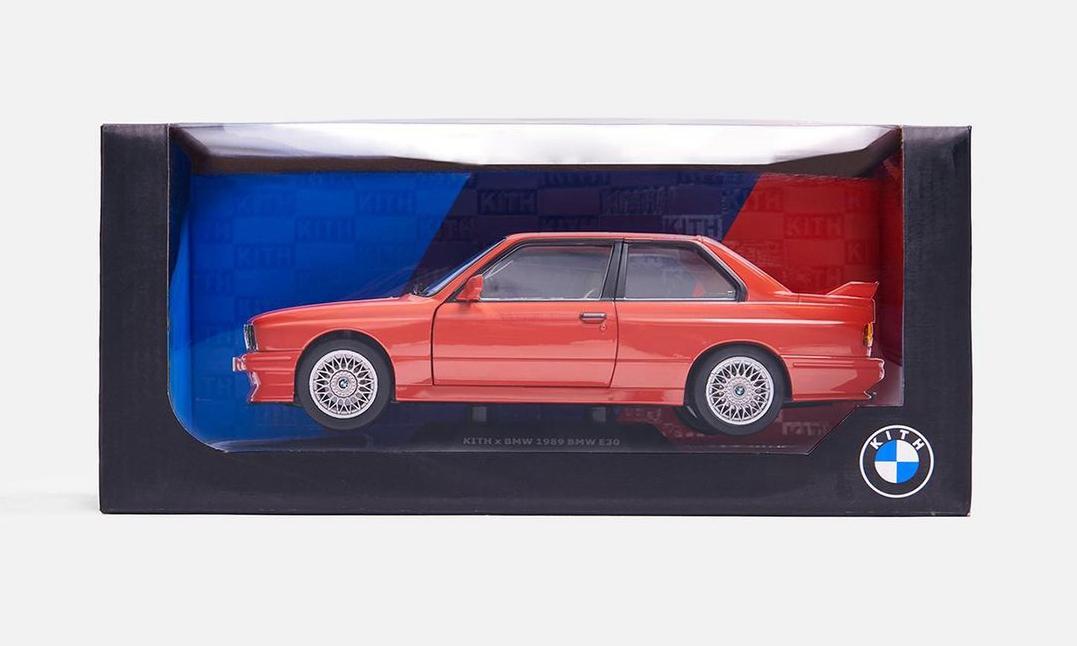 KITH x BMW 合作汽车模型正式登场