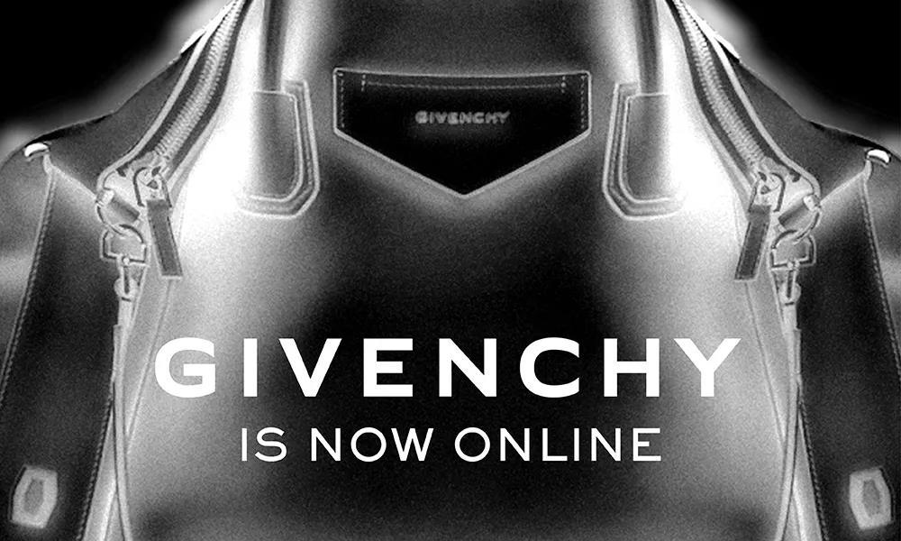 动作不断,GIVENCHY 开设微信小程序精品店