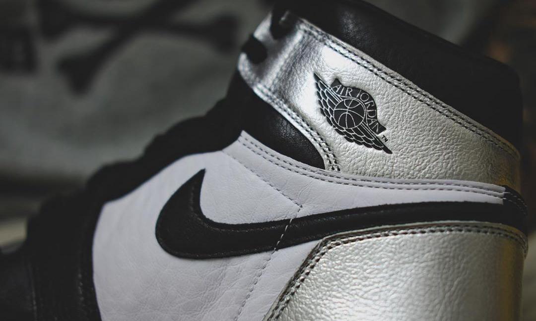 Air Jordan I「Silver Toe」实物近赏