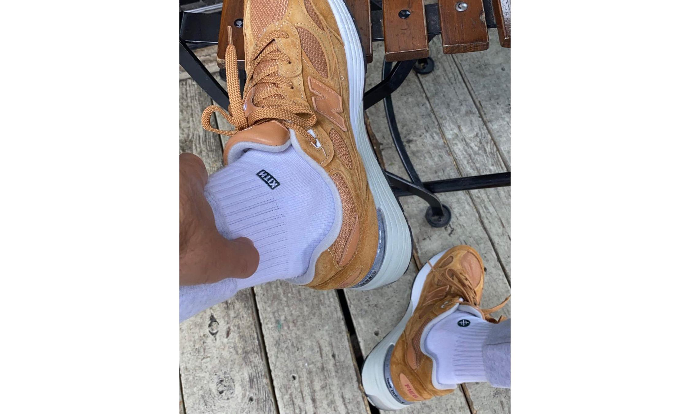 Ronnie Fieg 展示 New Balance 992 新联名鞋款