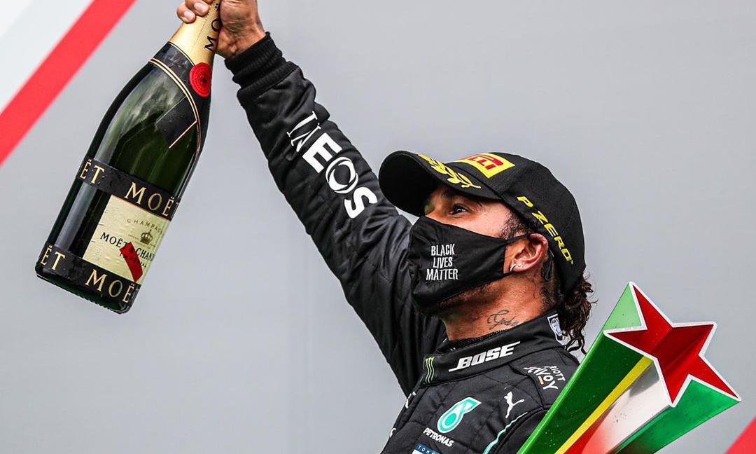 超越「车王」舒马赫,刘易斯·汉密尔顿夺得第 92 个分站赛冠军