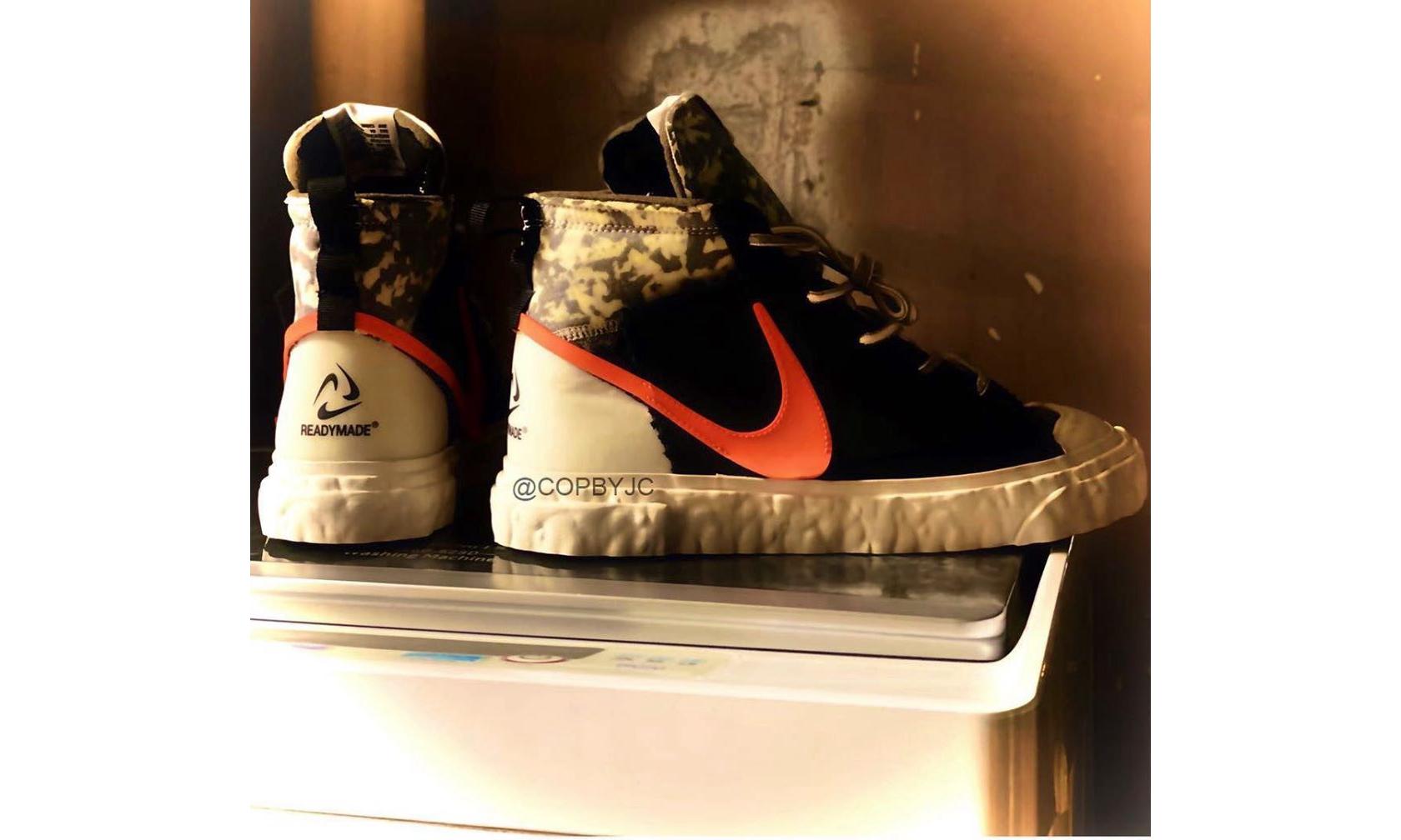 抢先预览 READYMADE x Nike Blazer Mid
