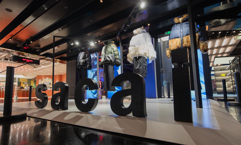 Nike x sacai 秋冬联名服饰系列现已登陆 SKP-S