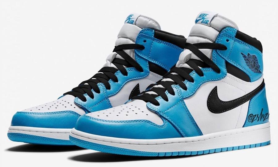 Air Jordan I「University Blue」实物图曝光