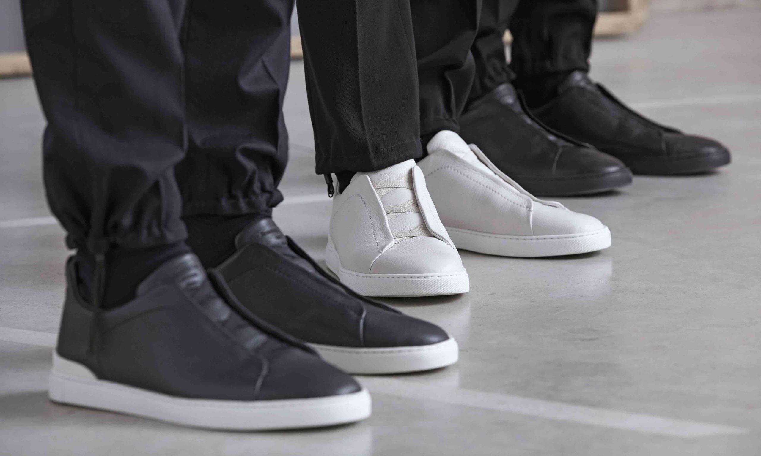 全新升级再次回归,杰尼亚 Triple Stitch 鞋履系列登场