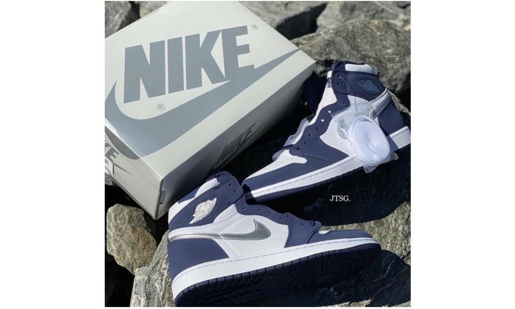 特殊鞋盒曝光,Air Jordan I「Midnight Navy」将于下月发售