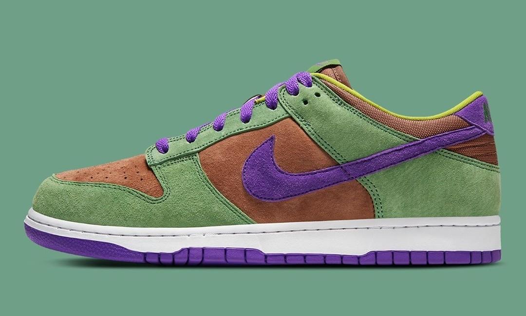 官图释出,Nike Dunk Low SP「Veneer」将在下月发售