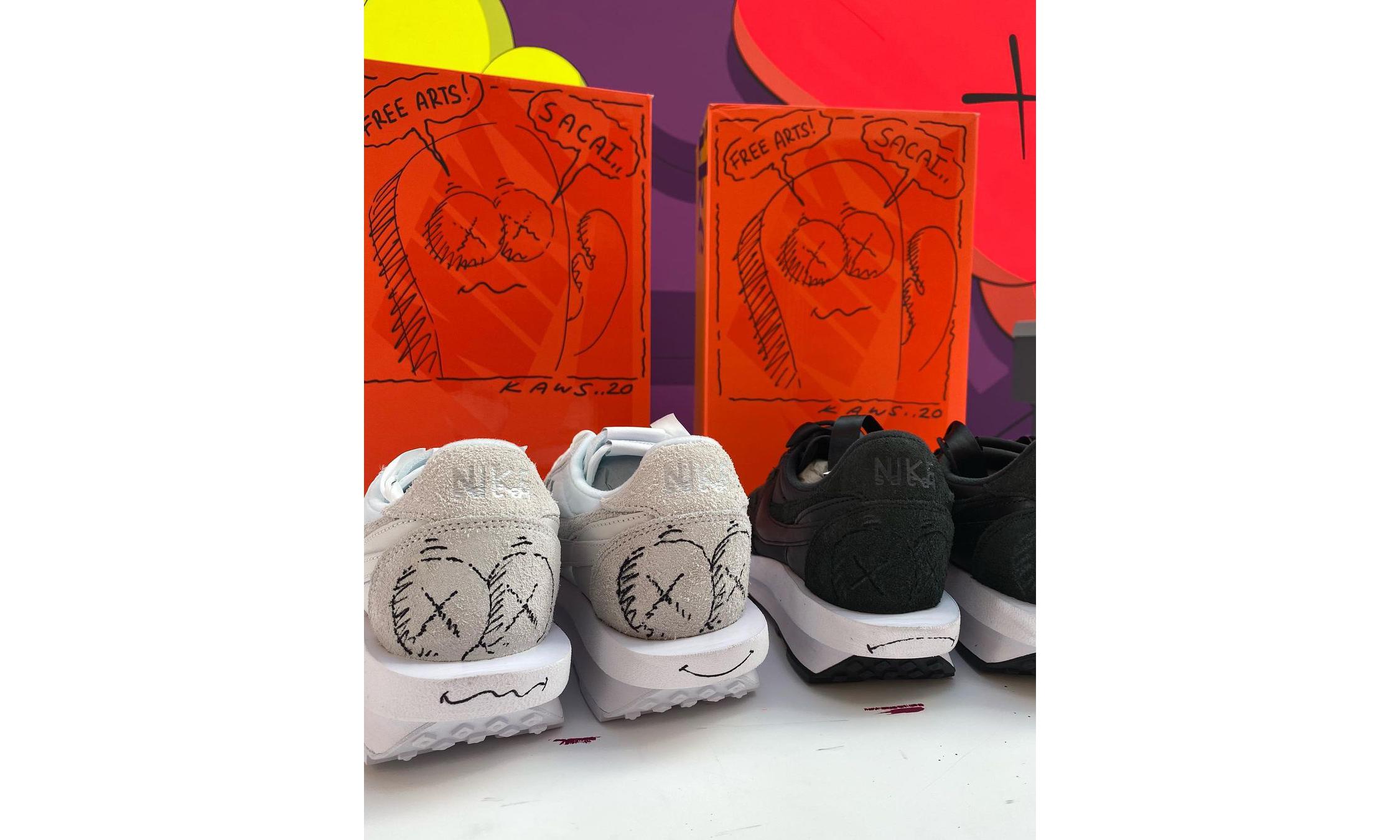 KAWS x sacai x Nike 三方联名来了?