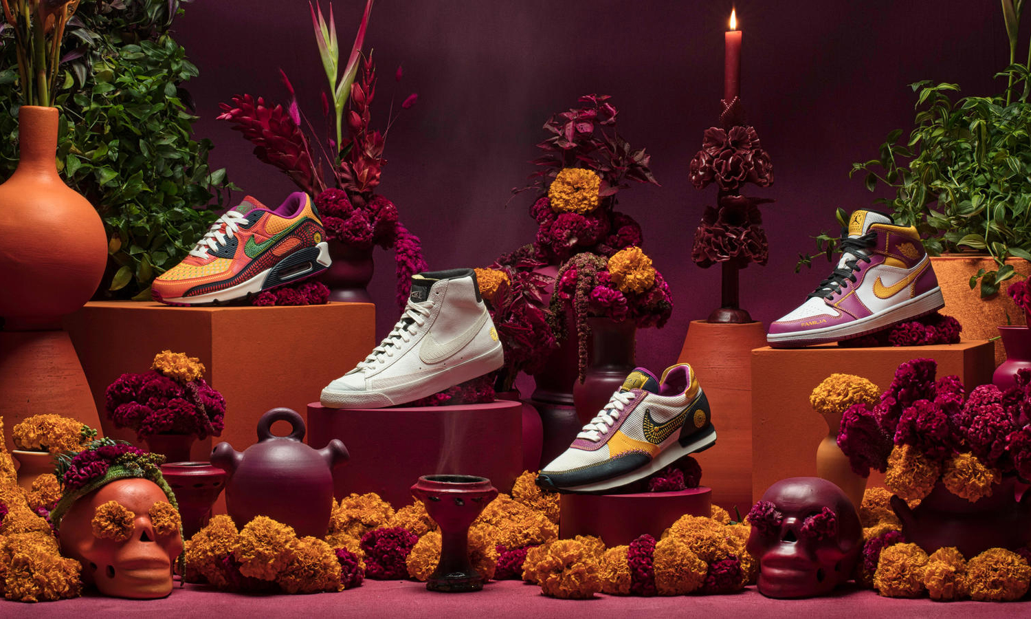 Nike 发布 Day of the Dead 主题限定系列