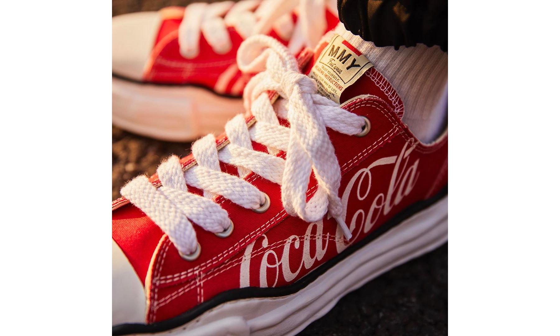 atmos x Coca-Cola x Maison MIHARA YASUHIRO 三方联乘鞋款即将登场