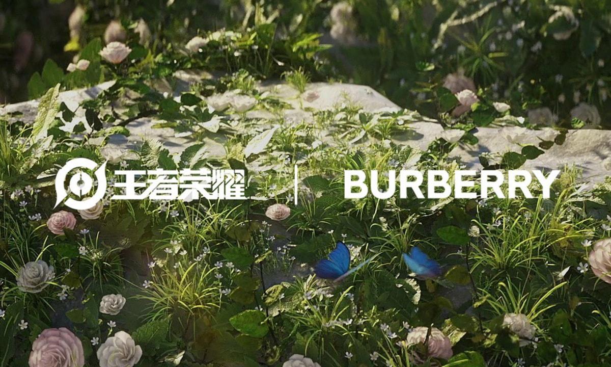 BURBERRY 宣布将与王者荣耀合作
