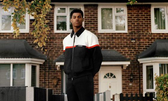 BURBERRY 携手英格兰球员拉什福德开启全球青年项目