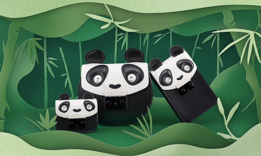 FURLA 推出中国限量款熊猫胶囊系列