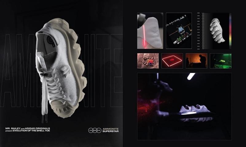 Mr. Bailey 联手 adidas Originals 发布全新解构鞋款「Ammonite Superstar」