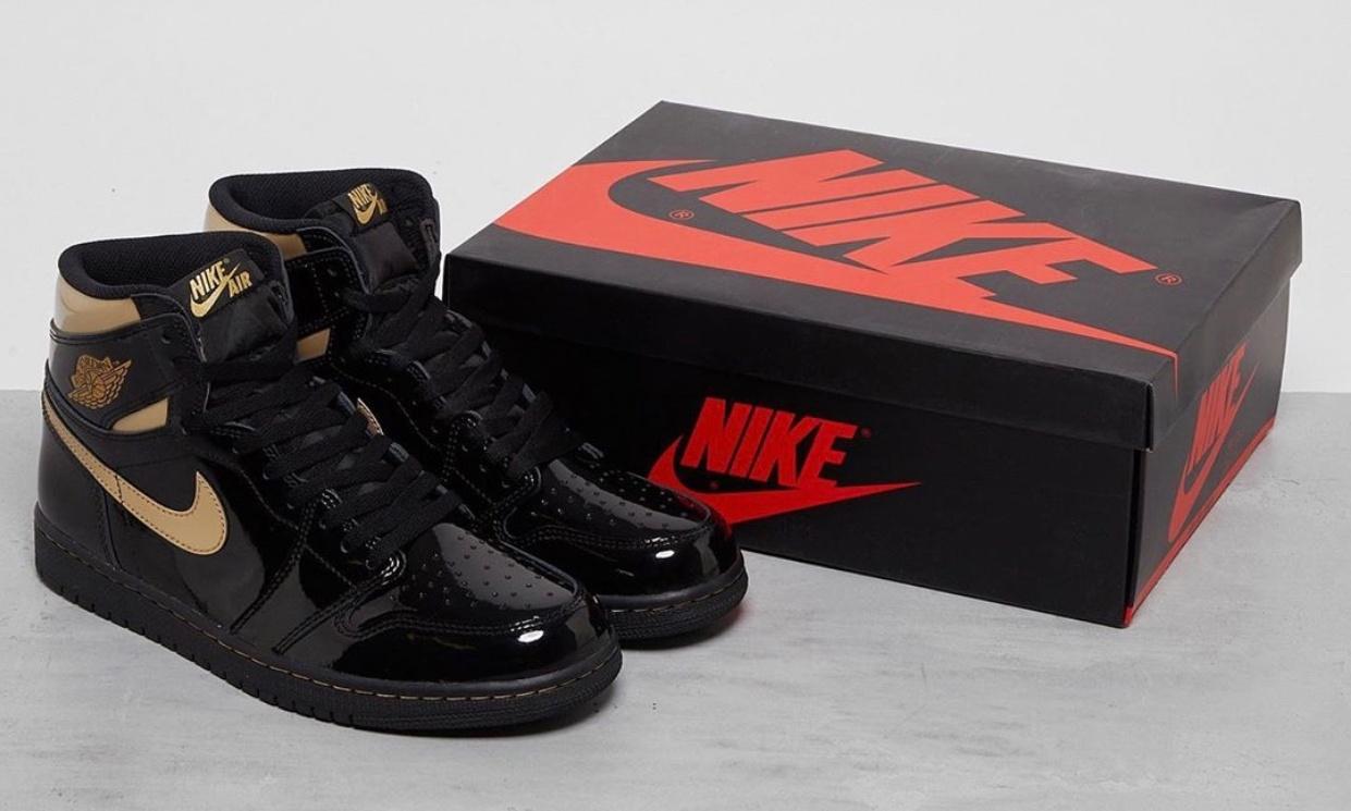 黑金漆皮,Air Jordan I「Black Gold」发售日期确定