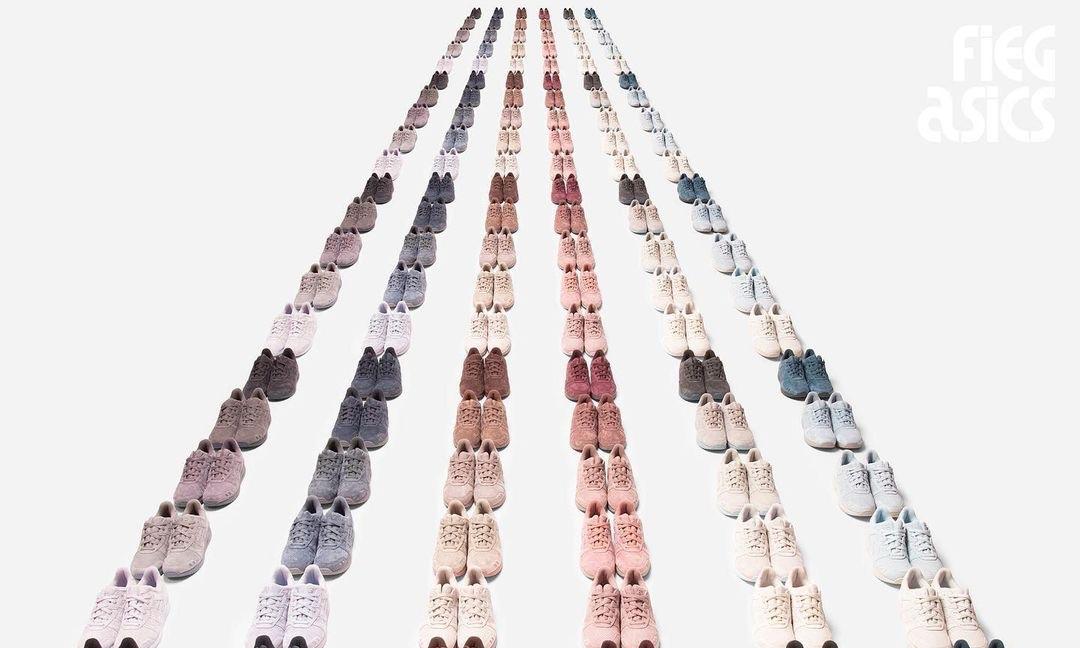 Ronnie Fieg x ASICS Gel Lyte III 联名球鞋发售日期公布