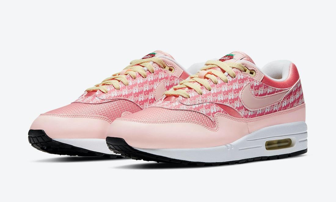 「草莓柠檬味」Nike Air Max 1 「Strawberry Lemonade」将于本月发售