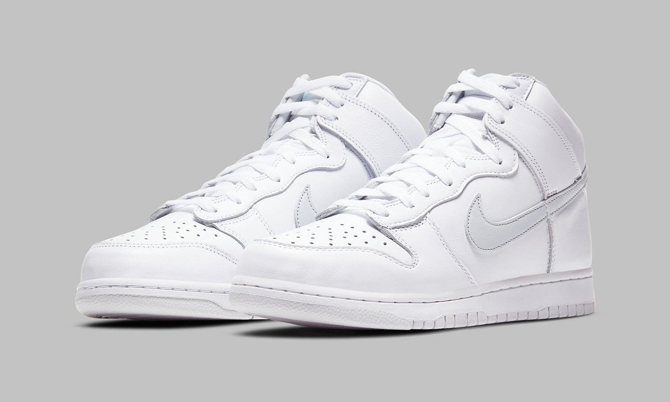 Nike Dunk High「Pure Platinum」即将发售