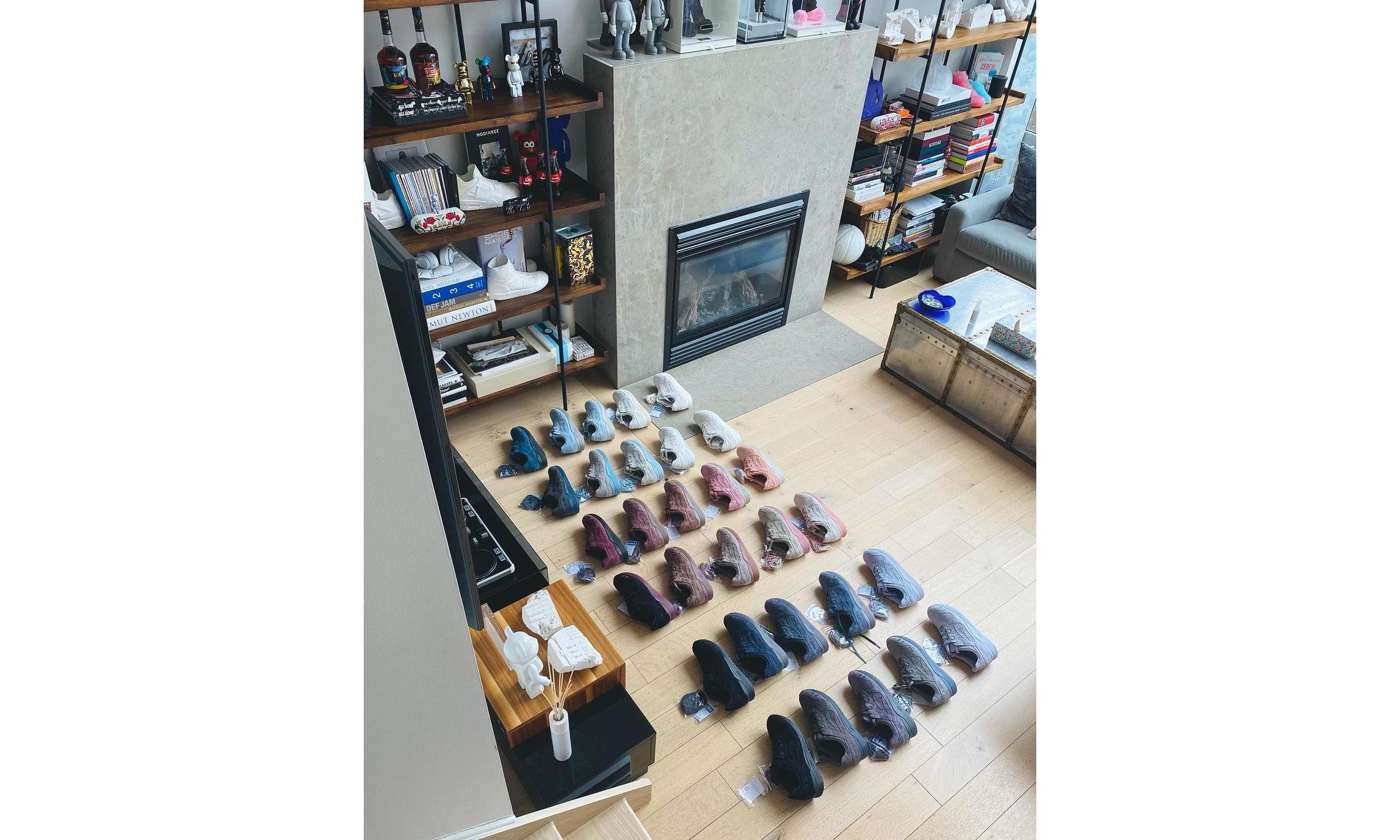 Ronnie Fieg 一次性曝光 30 双新配色 ASICS 联名球鞋