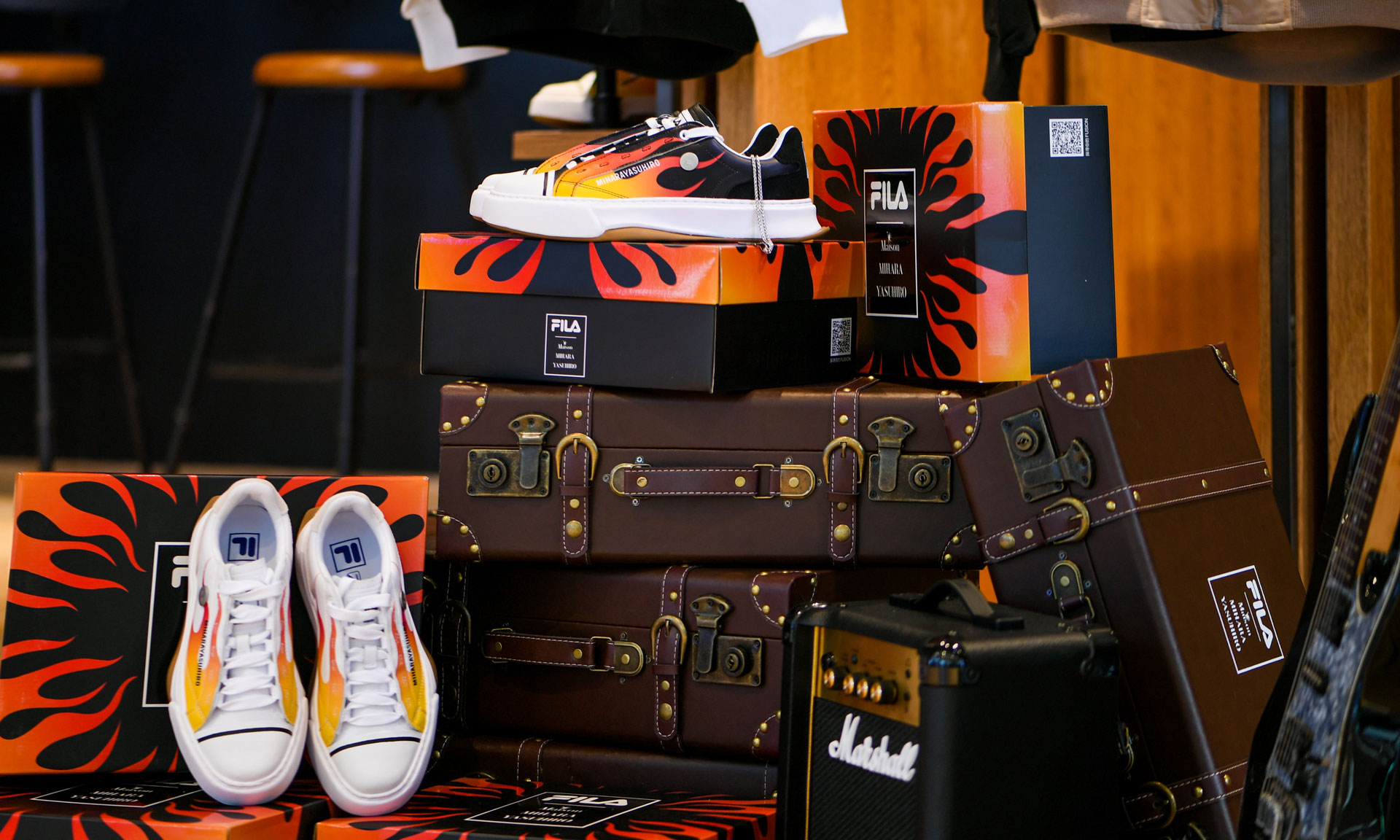 FILA FUSION x Maison MIHARA YASUHIRO FM-5 FLAME 超限定鞋款发售