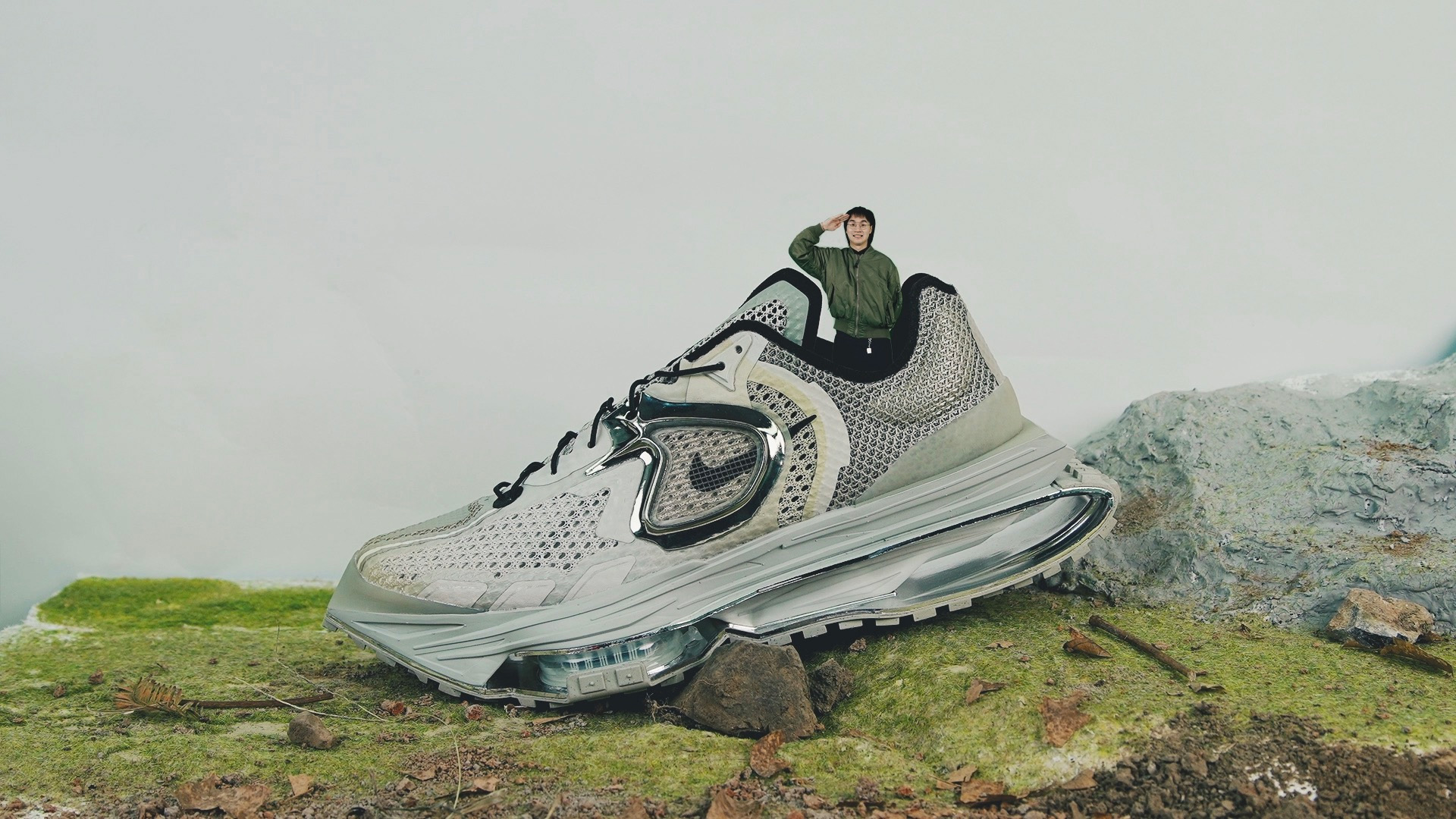 「坦克尺寸」的 Nike Zoom MMW 4…