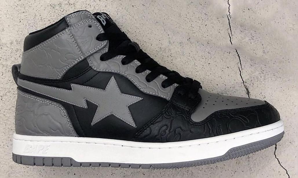 BAPE® 推出全新鞋款 Court STA Hi