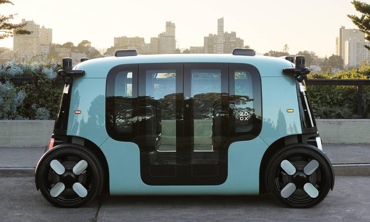 亚马逊推出首款自动驾驶电动出租车
