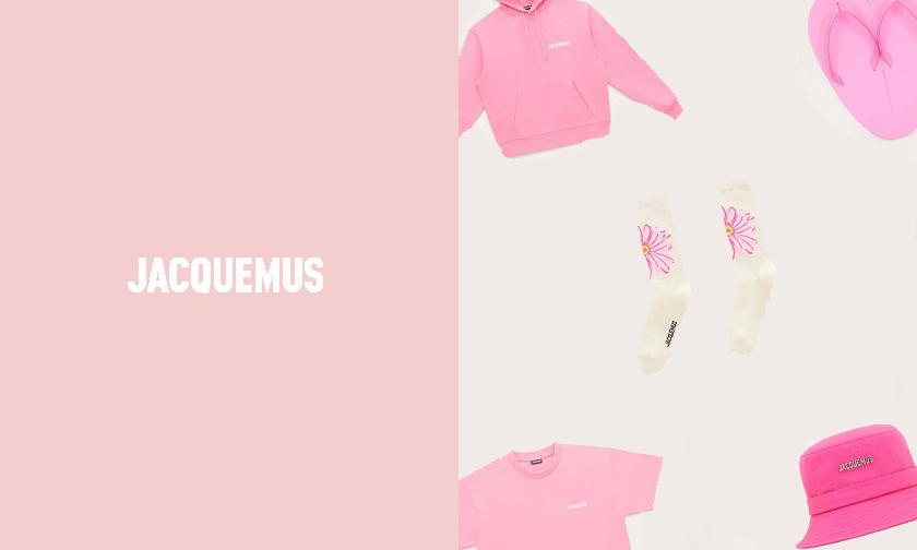 梦幻粉红,Jacquemus 推出亲民平价系列