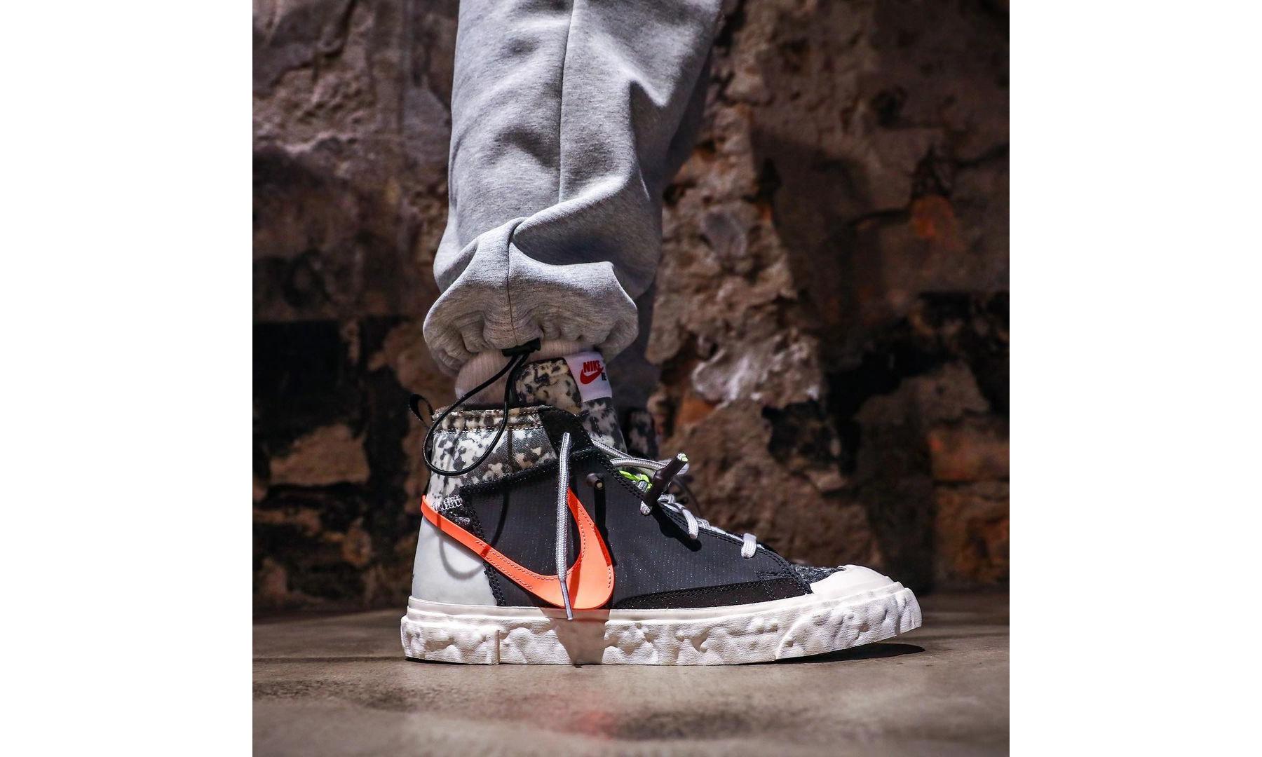 READYMADE x Nike Blazer Mid 上脚效果一览