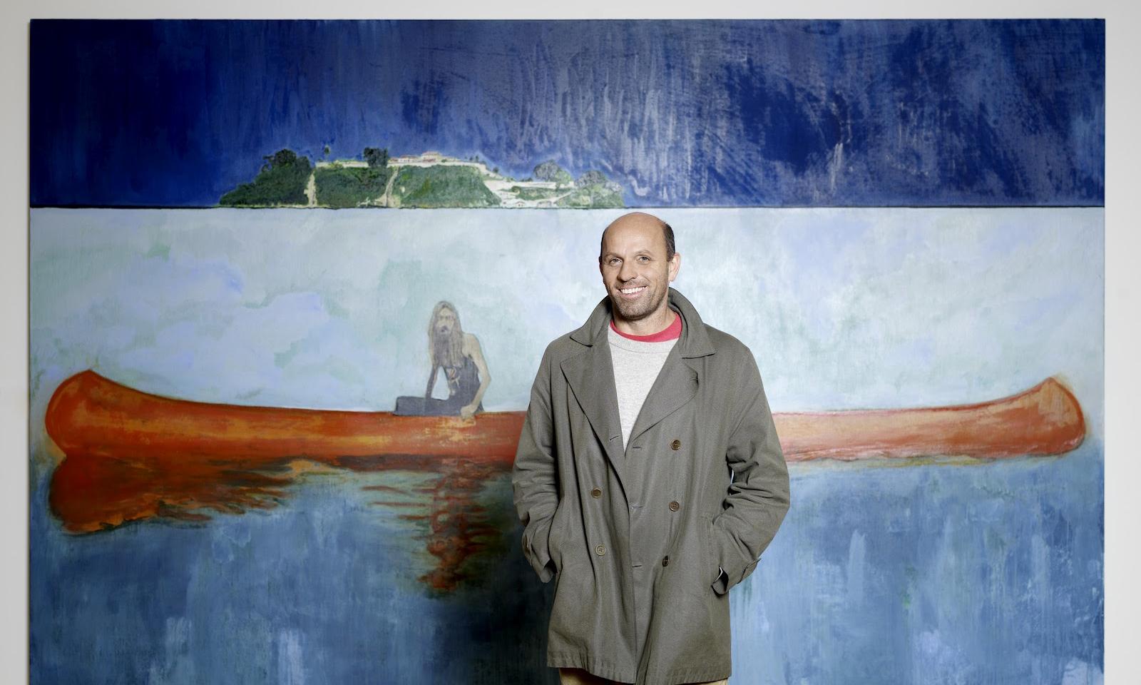 DIOR MEN 2021 秋冬系列将与苏格兰画家 Peter Doig 合作
