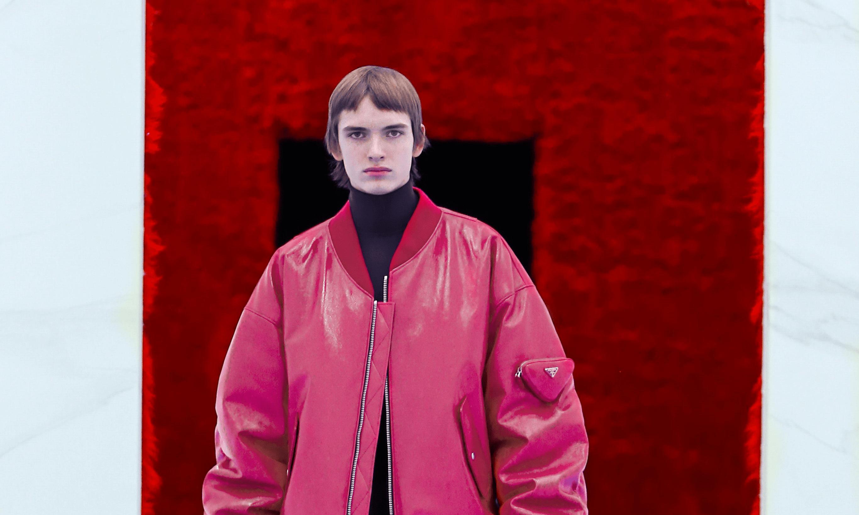 PRADA 2021 秋冬男装:一场给予自我与身体的慰藉良药