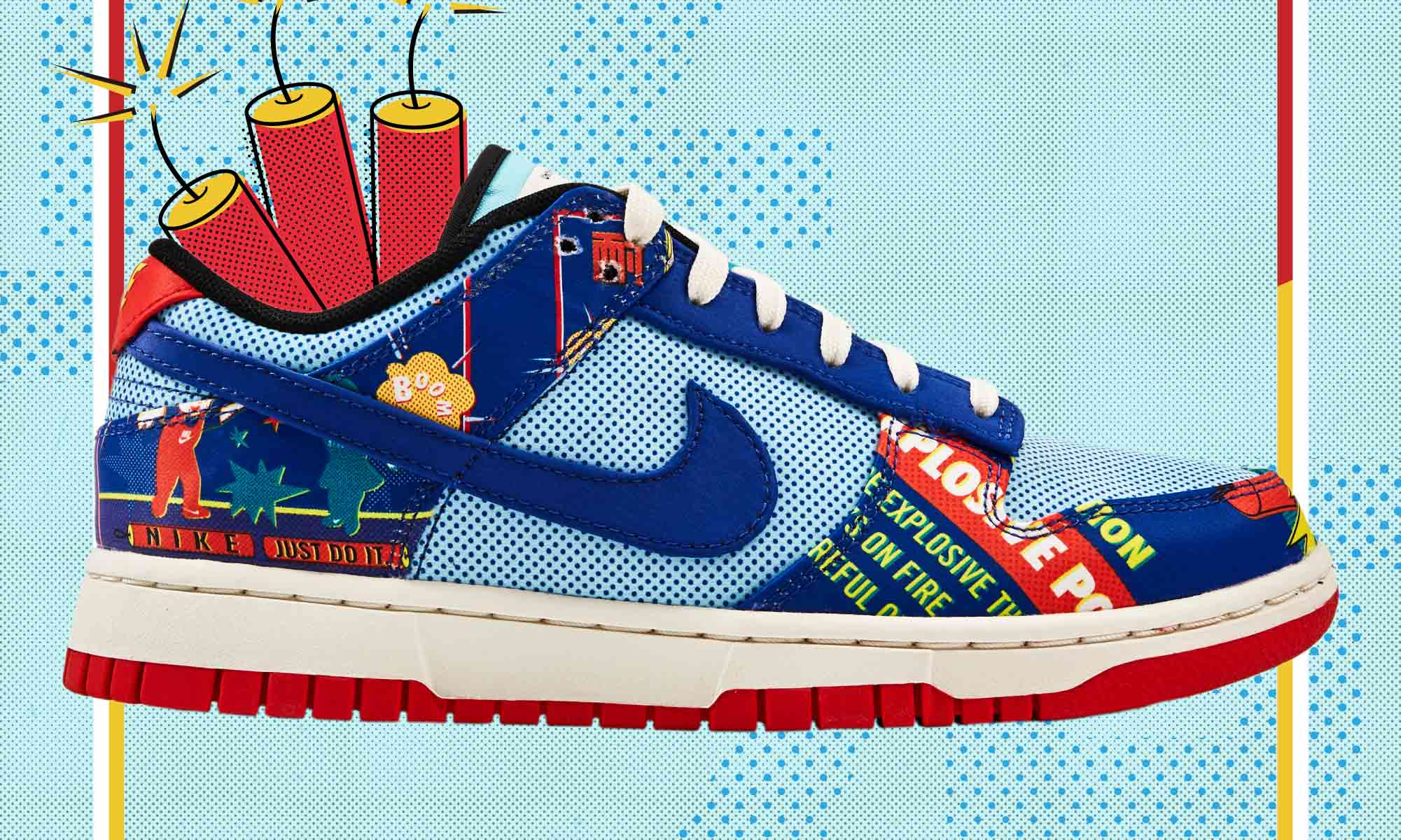 鞭炮迎新年,Nike Dunk Low CNY「Firecracker」即将于 SOULGOODS 开售